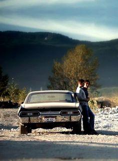 Sam, Dean and the Impala