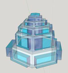 https://flic.kr/p/GUSueP | Giulia Bergonzoni design #nature #inspired #architecture #glass #snowflake #building #design #art #urban #bergonzoni