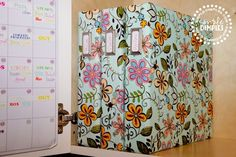 Fabric Covered Binder Tutorial (another one! Sewing Projects, Diy Projects, Binder Covers, Book Covers, Paper Crafts, Diy Crafts, Planner Organization, Office Organization, Good Tutorials