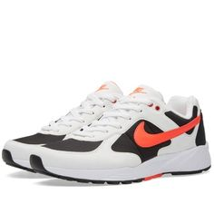 Nike Air Icarus (White, Bright Crimson & Black)