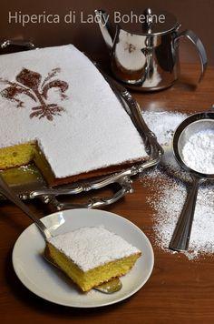 Italian Food from Florentine & Tuscan Cooking - Dolci di Carnevale: Schiacciata alla fiorentina tradizionale