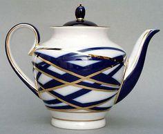 Lomonosov Porcelain Cocoon 3 Cup Tea Pot   eBay