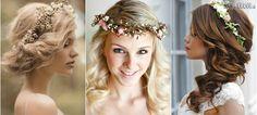 Inšpirujte sa: svadobné účesy so živými kvetmi