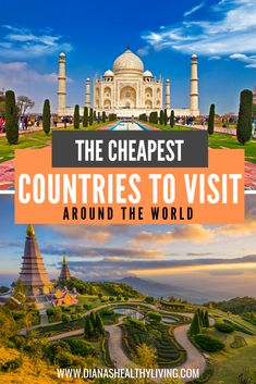 Looking for an affordable vacation and looking for the cheapest country to visit that will fit any budget? Here are the cheapest countries to visit in the world! These are affordable destinations that offer the most value for an unforgettable vacation. Visit India, Nepal, Greece, Turkey and so much more. #travelhacks #cheaptravel #budgettravel #cheapdestinations #travel #thailand #travelonabudget #traveldestinations