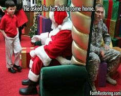 I want to see the boy's face when his dad comes out!