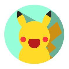 Pikachu — ((if you stare too long it looks a bit creepy...))