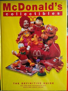 McDonald's Collectibles - Guide to Happy Meal and Other Toys Vintage Dolls, Vintage Ads, Fast Food Advertising, Weird Toys, Mcdonalds Toys, Retro Recipes, Tv Commercials, Classic Toys, Doll Toys