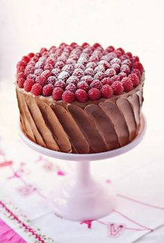 Recetas interesantes de tartas de cumpleaños - Archzine.es Beautiful Birthday Cakes, Beautiful Cakes, Mary Berry, Kids Meals, Raspberry, Cake Decorating, Food Photography, Sweets, Baking
