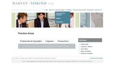 Attorney Web Design by PaperStreet - www.paperstreet.com