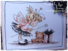 Etsy Transaction - LOTV Birthday Fairy handmade Card
