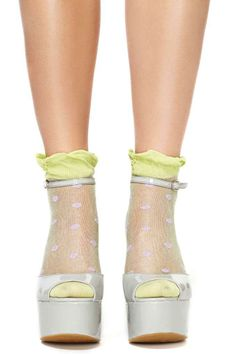 Hot Spot Ankle Socks