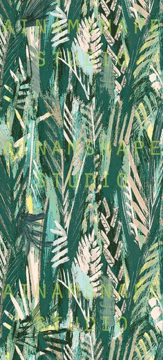 JUNGLE PRINT PATTERN design by ainamsnape© spring summer 2016 collection