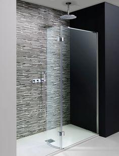 Design Walk In Easy Access Shower Enclosure in Frameless | Luxury bathrooms UK, Crosswater Holdings