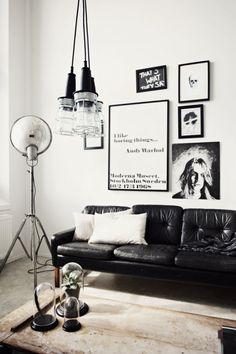 Estilo nórdico en blanco y negro tendencias en decoración 2013 | Margot - Cosas de la Vida