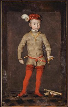 | Portrait présumé d'Henri IV enfant | Images d'Art