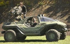 Real life Halo Warthog goes for a test drive Zombie Vehicle, Bug Out Vehicle, Zombie Gear, Halo Warthog, Quad, Engin, Buggy, Zombie Apocalypse, Apocalypse Survival