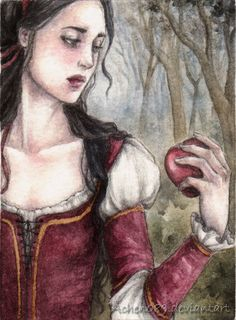 ACEO: Snow White by Achen089.deviantart.com on @deviantART