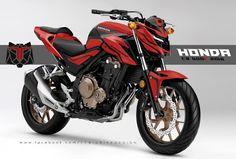 TT BIGBIKE DESIGN: HONDA CB500f Y2016 DESIGN CONCCEPT #1