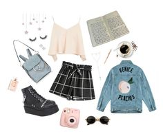 """""""02:16"""" by dre4mland on Polyvore featuring Être Cécile, Topshop, Demonia, Chloé, Chanel, Fujifilm and Witchery"""