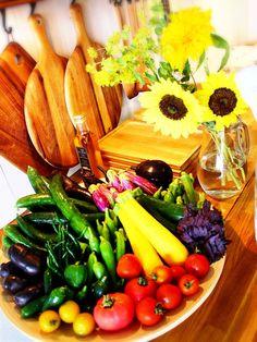 オーガニックの夏野菜