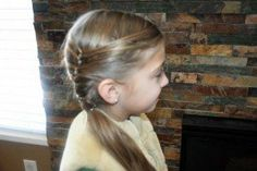 Layered Ponytail (Side) and more Hairstyles from CuteGirlsHairstyles.com