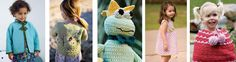 Crochet for Kids with Crochet Me:  5 FREE Crochet Patterns for Kids