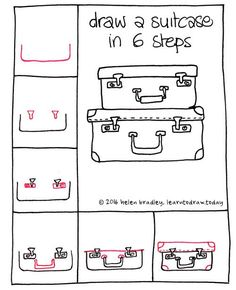 suitcase-6-step http://giovannibenavides.com/Pinterest Board Commander