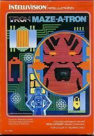 Tron Maze A Tron - IntelliVision Game