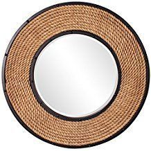 Best Rope Mirrors and Nautical Wall Decor! Discover the top-rated nautical themed rope wall decorations and rope themed mirrors. Nautical Bathroom Mirrors, Nautical Mirror, Nautical Wall Decor, Beach Wall Decor, Beach House Decor, Nautical Rope, Round Mirror With Rope, Rope Mirror, Round Wall Mirror