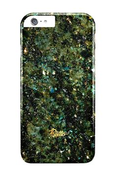 Cosmos / iPhone Marble Case - Paletto shop #space #galaxy #green