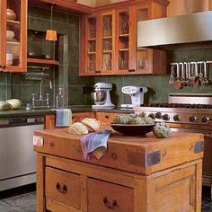 Photo: Peter Vitale | thisoldhouse.com | from Editors' Picks: Our Favorite Wood-Tone Kitchens