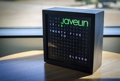 Picture of Javelin's Word Clock