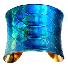 aqua teal turquoise   Aqua Turquoise Teal / cuff