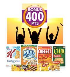 Kellogg's Family Rewards: Earn 400 Bonus Points - FreebiesForACause.com