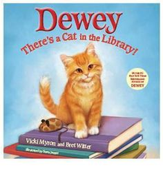 Dewey:The Small-town Library-cat Who Touched the World has sold over one million copies worldwide.  I have been wondering when a children's version would come out, great Christmas gift~