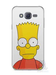 Capa Capinha Samsung J5 Bart Simpson - SmartCases - Acessórios para celulares e tablets :)