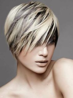 Short Hair Cuts and Color 2014
