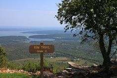 Mount Nebo Rim Trail – Starting from behind the Visitor Center