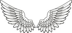 Angel Wings Clip Art Christmas | Search Results | New Calendar ...