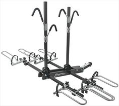Swagman 64665 Bike Rack44; Black44; 65 Lbs. Transports Up To 4 Bikes. New Frame Grip Arms With Improved Soft Frame Friendly Coating To Protect Bikes Finish. Arms Folds Down To Allow Access To The Rear Of Vehicle. Rack Folds Up When Not In Use. Weight - 65 lbs.