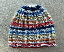 Ravelry: Vintage Pique Rib Hat pattern by Julie Tarsha