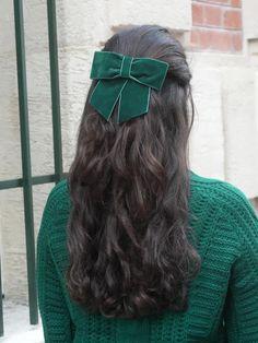 Hair Ribbons, Hair Bows, Pretty Hairstyles, Braided Hairstyles, Ribbon Hairstyle, Fascinator Hairstyles, Beautiful Hair Color, Hair Inspo, Hair Hacks
