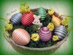 .◠◦◡❦ Design by Suzi ❦◡◦◠.: Melírované vajíčka