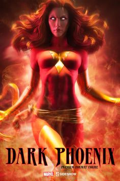 This Dark Phoenix statue depicts Jean Grey falling from grace, due to a corruption of power. Enhance your Marvel collection with the Sideshow Dark Phoenix! Marvel Comics, Marvel Films, Marvel Heroes, Ms Marvel, Captain Marvel, Jean Grey Phoenix, Dark Phoenix, Phoenix Force, Phoenix Marvel