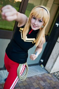 Wonder Girl, cosplayed by L-a-y-l-a, photographed by Franky-chan