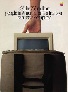 """Introducing Macintosh"" ad insert in Newsweek, 1984   Retronaut"