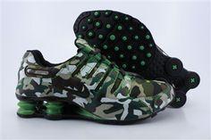Mens Nike Shox NZ Camouflage Edition Brown Green Nike Shox Nz dfc756885