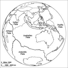 Pangea Flip Book And Continental Drift Scientific Theory Alfred Wegener Convergent Boundary
