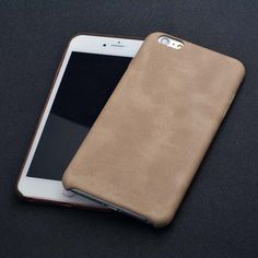 for iphone 7/7 plus Ultra-thin Luxury Imported PU Leather Back Cover Phone Case  #Yihailu