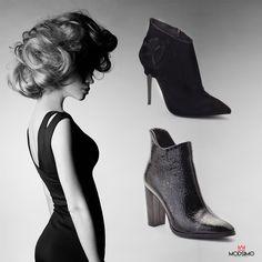 Her zaman moda; Siyah!